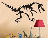 DINOSAUR BONES T-REX Vinyl Wall Art Decal