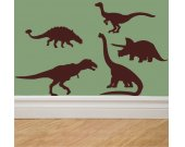 DINOSAURS Vinyl Wall Art