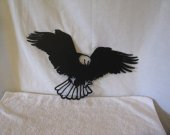 Eagle 18 Metal Wildlife Bird Wall Yard Art Silhouette