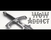WoW Addict Bumper Sticker for Gamer