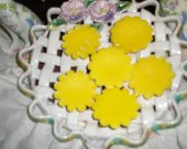 SUNFLOWERS Type Soy Tarts