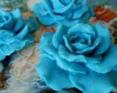 Blue Heaven Soap Rose - Gift Boxed