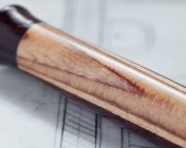 CUPOLA - Rosewood &amp; Birch Wood Mechanical Pencil - A Perfect Father&rsquo;s Day Present