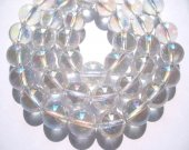 high quality round ball mystic natural crystal/white quartz bead 10mm 40pcs full strand