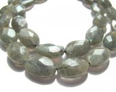 high quality genuine oval faceted flashy fire labradorite beads 10X14mm 29pcs full strand