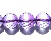 AAA grade round ball micro faceted multi amethyst ametrine Quartz 12mm 33pcs full strand