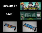 Lego Harry Potter Set of 12 Personalized Candy Bar Wrappers Party Favors