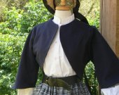 Zouave Jacket Civil War Bolero Historical Costume