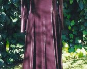 Medieval Renaissance Dress Cotehardie Gown Velvet Wedding LARP SCA Historical Costume