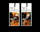 Twisted Metal Set of 12 VIP Party Invitation Passes or Party Favors