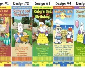 Max and Ruby Birthday Party Ticket Invitations, Supplies, and Favors