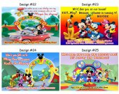 Mickey Mouse Clubhouse Birthday Party Invitations, Supplies, and Favors Baby Shower Minnie