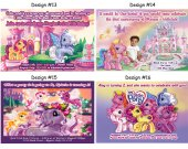 My Little Pony Birthday Party Invitations, Supplies, and Favors