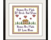 ALL STITCHES - Brick and Mortar Cross Stitch Pattern .PDF -433