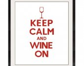ALL STITCHES - Wine One Cross Stitch Pattern .PDF - PICK LARGE OR MEDIUM SIZE -337