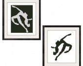 ALL STITCHES - 2 Pattern Set - Dancers Cross Stitch Patterns .PDF -342
