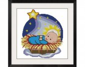 ALL STITCHES - Baby Jesus Cross Stitch Pattern .PDF -343