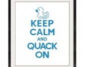 ALL STITCHES - Quack On Cross Stitch Patern .PDF - PICK LARGE OR MEDIUM SIZE -345