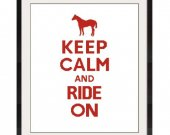 ALL STITCHES - Ride On Cross Stitch Pattern .PDF - PICK LARGE OR MEDIUM SIZE -347