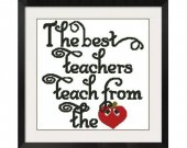 ALL STITCHES - Best Teacher Cross Stitch Pattern .PDF -461