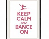 ALL STITCHES - Dance On Cross Stitch Pattern .PDF - PICK LARGE OR MEDIUM SIZE -465