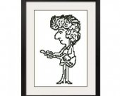 ALL STITCHES - Bob Dylan Cross Stitch Pattern .PDF -454