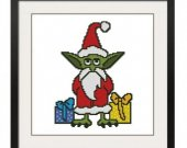 ALL STITCHES - Santa Elf Cross Stitch Pattern .PDF -443