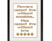 ALL STITCHES - Without Love Cross Stitch Pattern .PDF -444