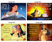 Pocahontas Birthday Party Invitations, Supplies, and Favors