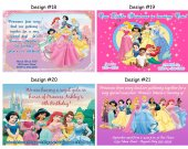 Princesses Birthday Party Invitations, Supplies, and Favors