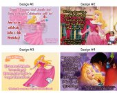 Sleeping Beauty Birthday Party Invitations, Supplies, and Favors
