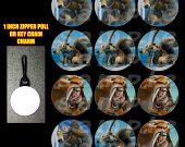 Ice Age Set of 12 Zipper Pulls - Make Great Party Favors