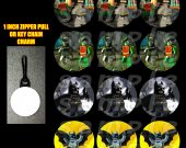 Lego Batman Set of 12 Zipper Pulls - Make Great Party Favors