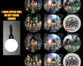 Lego Harry Potter Set of 12 Zipper Pulls - Make Great Party Favors