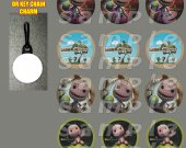 Little Big Planet Set of 12 Zipper Pulls - Make Great Party Favors