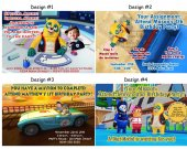 Special Agent Oso Birthday Party Invitations, Supplies, and Favors