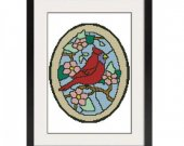 ALL STITCHES - Cardinal Cross Stitch Pattern .PDF -545