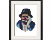 ALL STITCHES - Emmett Kelly Cross Stitch Pattern .PDF -530