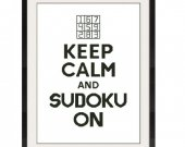 ALL STITCHES - Sudoku Cross Stitch Pattern .PDF - PICK LARGE OR MEDIUM SIZE -525