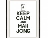 ALL STITCHES - Mah Jong Cross Stitch Pattern .PDF - PICK LARGE OR MEDIUM SIZE -528