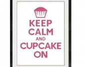 ALL STITCHES - Cupcake Cross Stitch Pattern .PDF - PICK LARGE OR MEDIUM SIZE -522