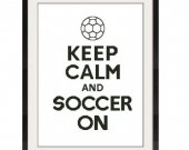 ALL STITCHES - Soccer On Cross Stitch Pattern .PDF - PICK LARGE OR MEDIUM SIZE -518
