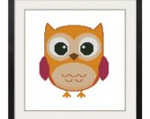 ALL STITCHES - Owl Cross Stitch Pattern .PDF -632