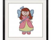 ALL STITCHES - Angel Cross Stitch Pattern .PDF -633