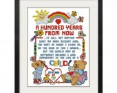 ALL STITCHES - A Hundred Years From Now Cross Stitch Pattern .PDF -622