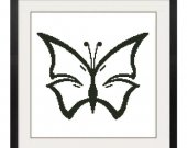 ALL STITCHES - Butterfly Cross Stitch Pattern .PDF -623
