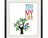 ALL STITCHES - You Light Up My Life Cross Stitch Pattern .PDF -624