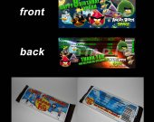 Angry Birds Space Set of 12 Personalized Candy Bar Wrappers Party Favors