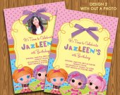 Lalaloopsy - Custom Personalized You Print Digital Photo Card