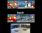 Club Penguin Set of 12 Goodie Bag Toppers